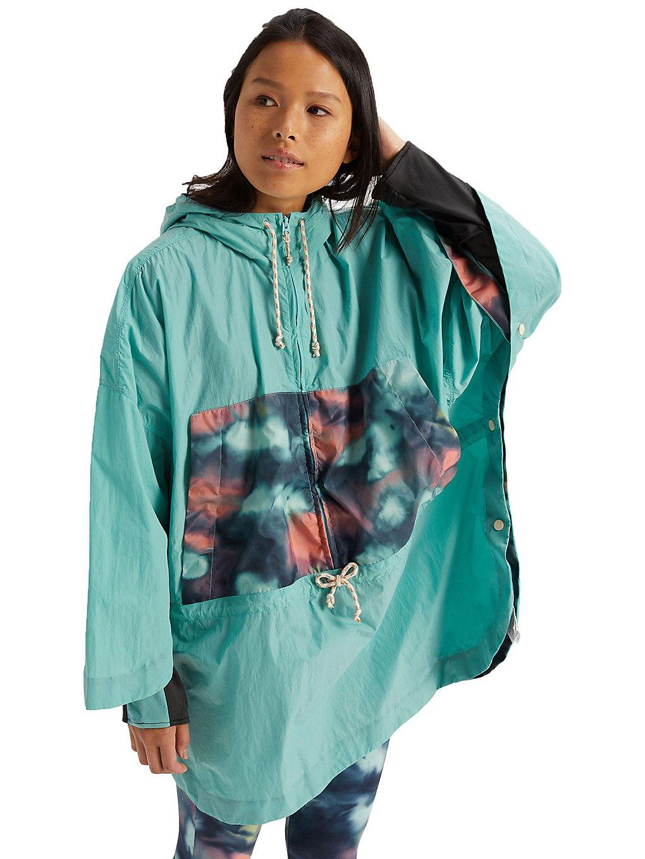 Burton Hazlett Packable Poncho Jacket aurady