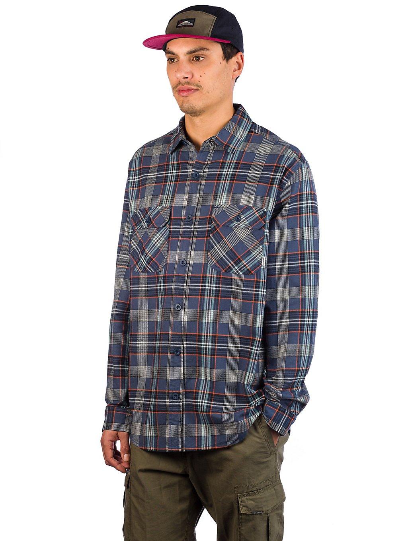 Burton Brighton Flannel Shirt dress blue somerset