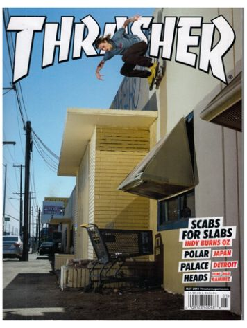 Thrasher Magazine Issue May 2019 Magazine
