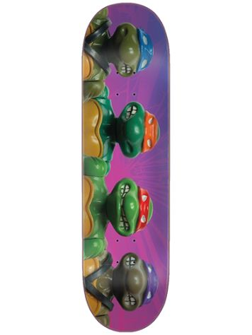 "Santa Cruz TMNT Figures Everslick 8.5"" Deck"