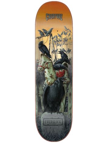 "Creature Haunted Everslick 8.5"" Skateboard Deck"
