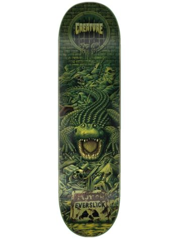 "Creature Haunted Everslick 8.0"" Skateboard Deck"