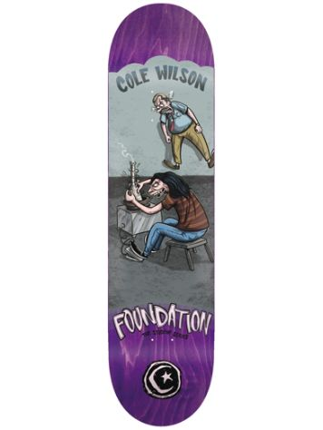"Foundation Student Series 8.0"" Skateboard Deck"
