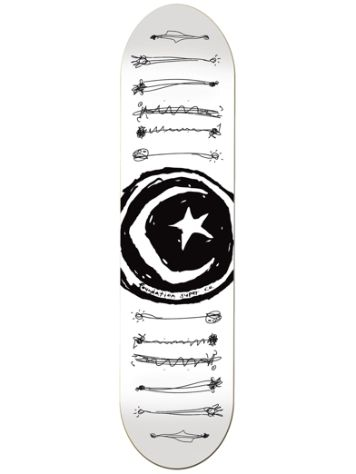 "Foundation Star & Moon Scribble 8.25"" Deck"