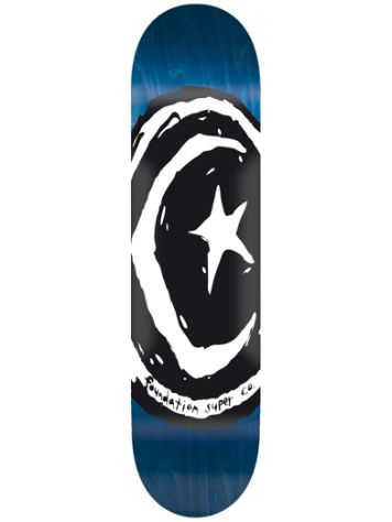 "Foundation Star & Moon V.1.0 8.38"" Skateboard Deck"