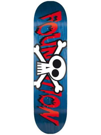 "Foundation Crossbones 8.0"" Skateboard Deck"