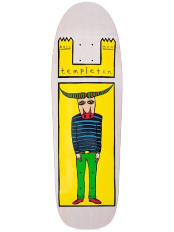 "Toy Machine Templeton Bull Man 1990s Reissu 9.5"" Deck"