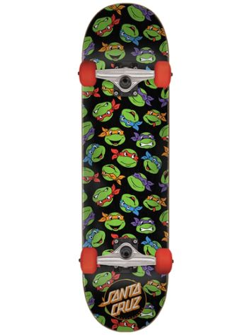 "Santa Cruz TMNT Allover Turtle 7.5"" Complete"