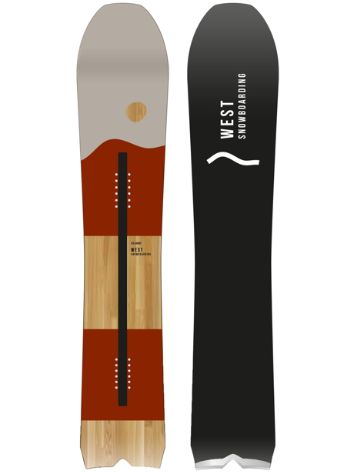 West Snowboards Six Carro 160 2020