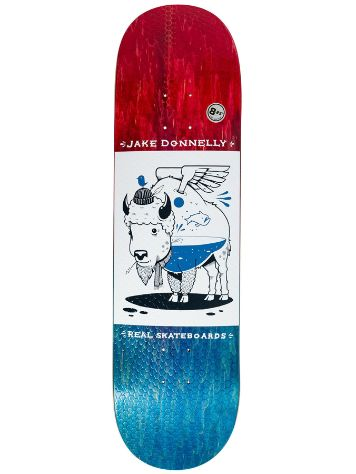 "Real X Jeremy Fish Donnely 8.25"" Skateboard Deck"