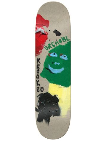 "Krooked Drehobl Paint Smudge 8.38"" Skate Deck"