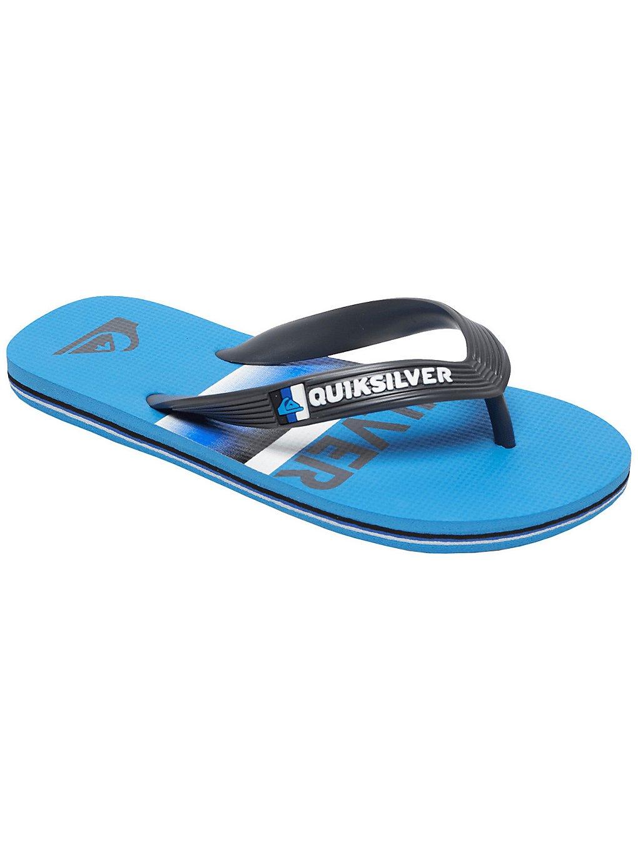 quiksilver molokai slab sandals blue