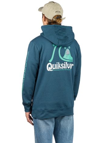 Quiksilver Empty Rooms Pulover s kapuco