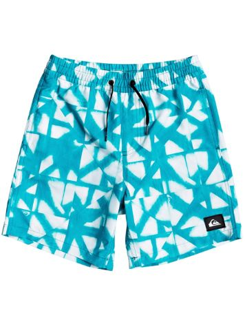 Quiksilver Dye Check Volley 15 Boardshorts