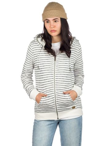 Roxy Trippin Stripes Hoodie med Dragkedja