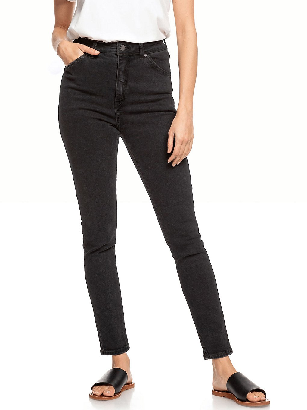 roxy another time to surf jeans anthracite