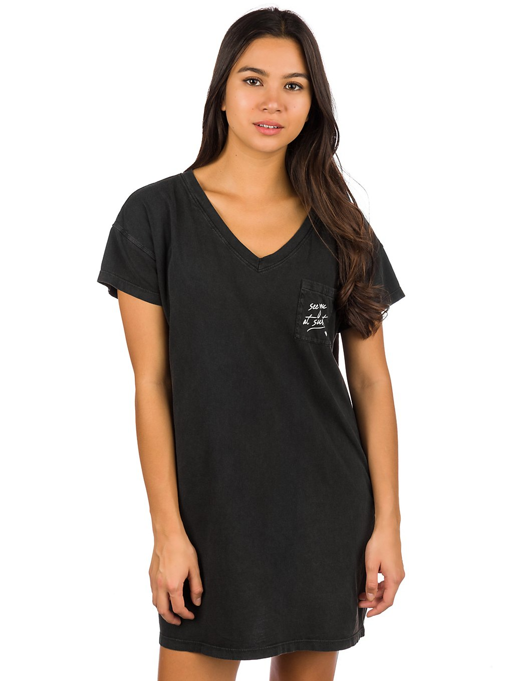 Roxy Night Shimmers Dress anthracite