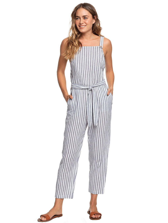 Hosen - Roxy Another You Overall mood indigo lagos stripes  - Onlineshop Blue Tomato