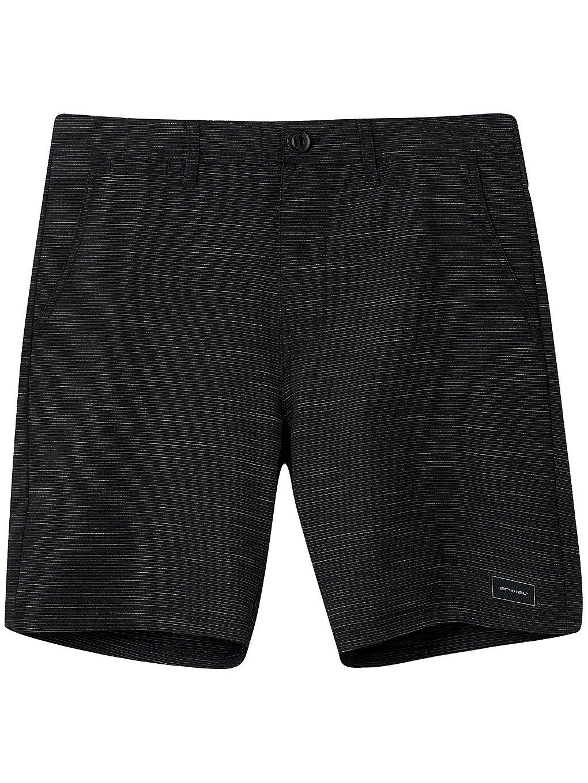 Animal Darwin Stripe Shorts black