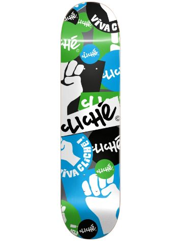 "Cliché Patch 8.0"" Skateboard Deck"