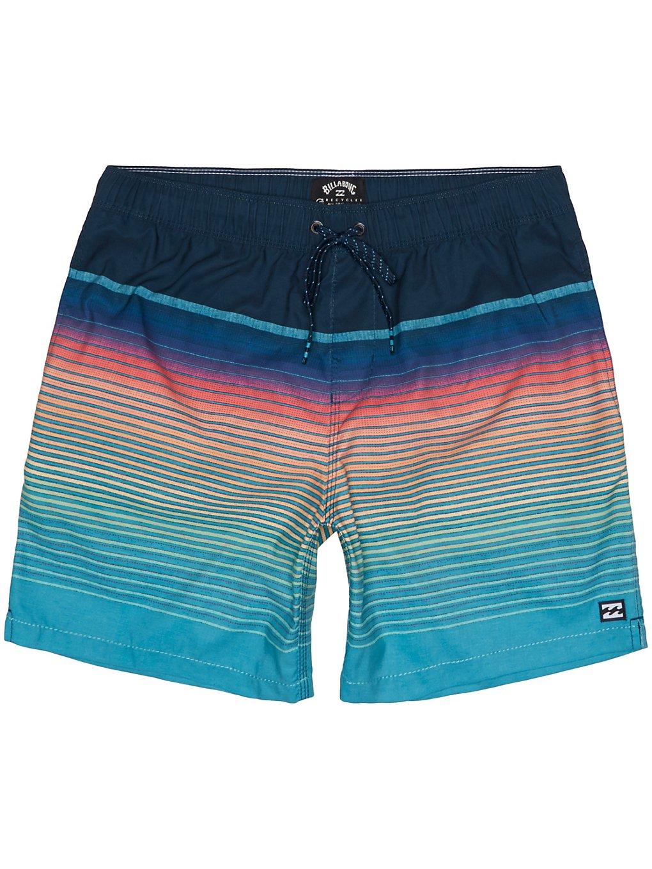 Billabong All Day Stripe Layback Shorts navy