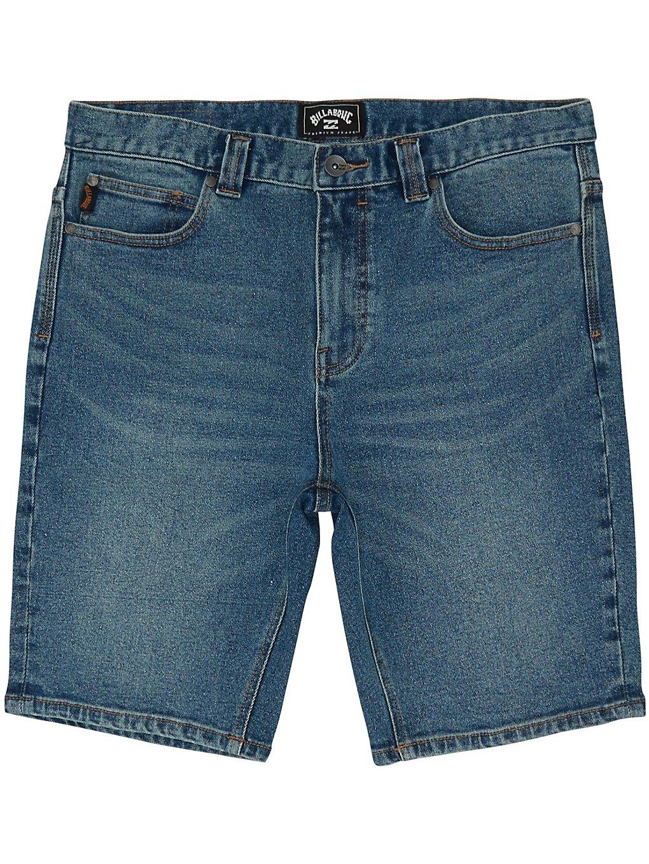 Billabong Outsider Denim Walk Shorts indigo wash