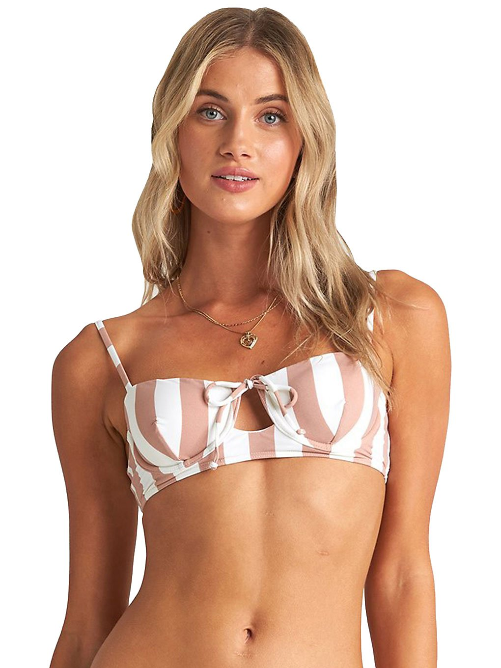 Billabong Shady Sands Bralette Bikini Top khaki sand