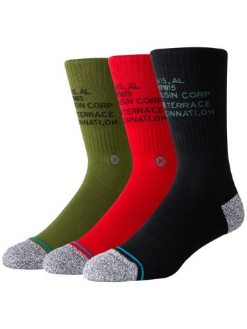 Stance Corp 3 Of A Kind Socks