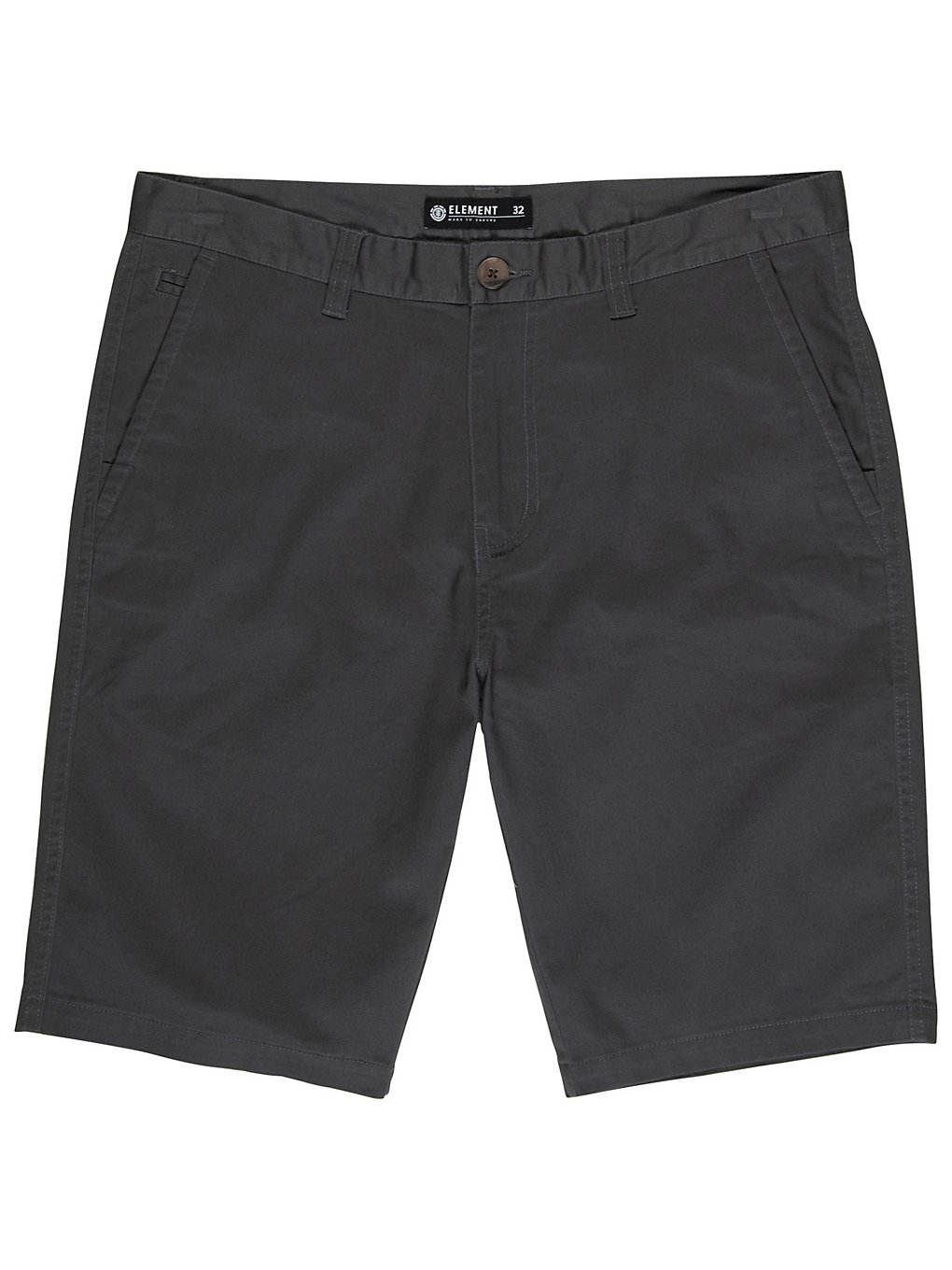 Element Howland Classic Walk Shorts asphalt
