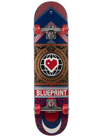 "Blueprint Home Heart 7.75"" Complete"
