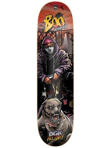 "DGK Boo Johnson Apocalypse 8.25"" Skateboard Deck"