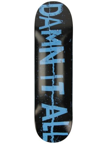 "Zero Damn It All Zine 8.25"" Skateboard Deck"