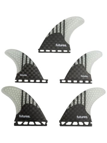 Futures Fins Quad Thruster 5 V2F6 Gen Series Finnen Set