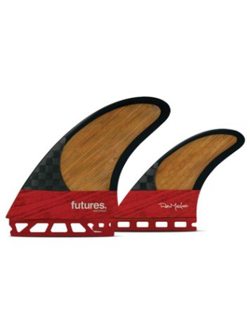 Futures Fins Twin Machado Blackstix Fin Set