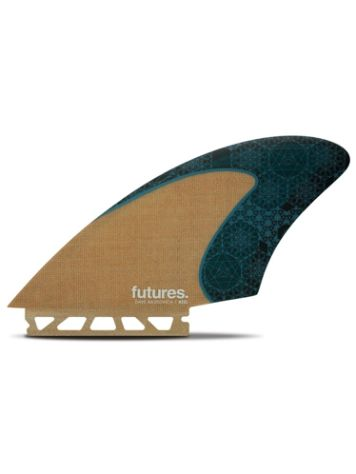 Futures Fins Twin Rasta Keel Honeycomb Jute Fin Set