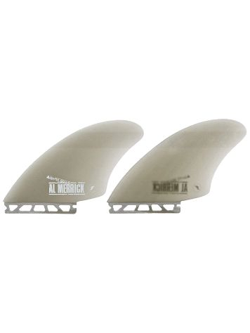 Futures Fins Twin Channel Island Keel Fibrglas Fin Set