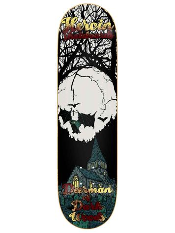 "Heroin Skateboards DMODW Illusion 8.625"" Skateboard Deck"