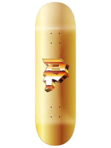 "Primitive Dirty P 8.125 Gold Foil"" Skateboard Deck"
