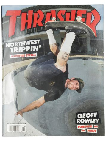 Thrasher Issues September 2019 Magazin