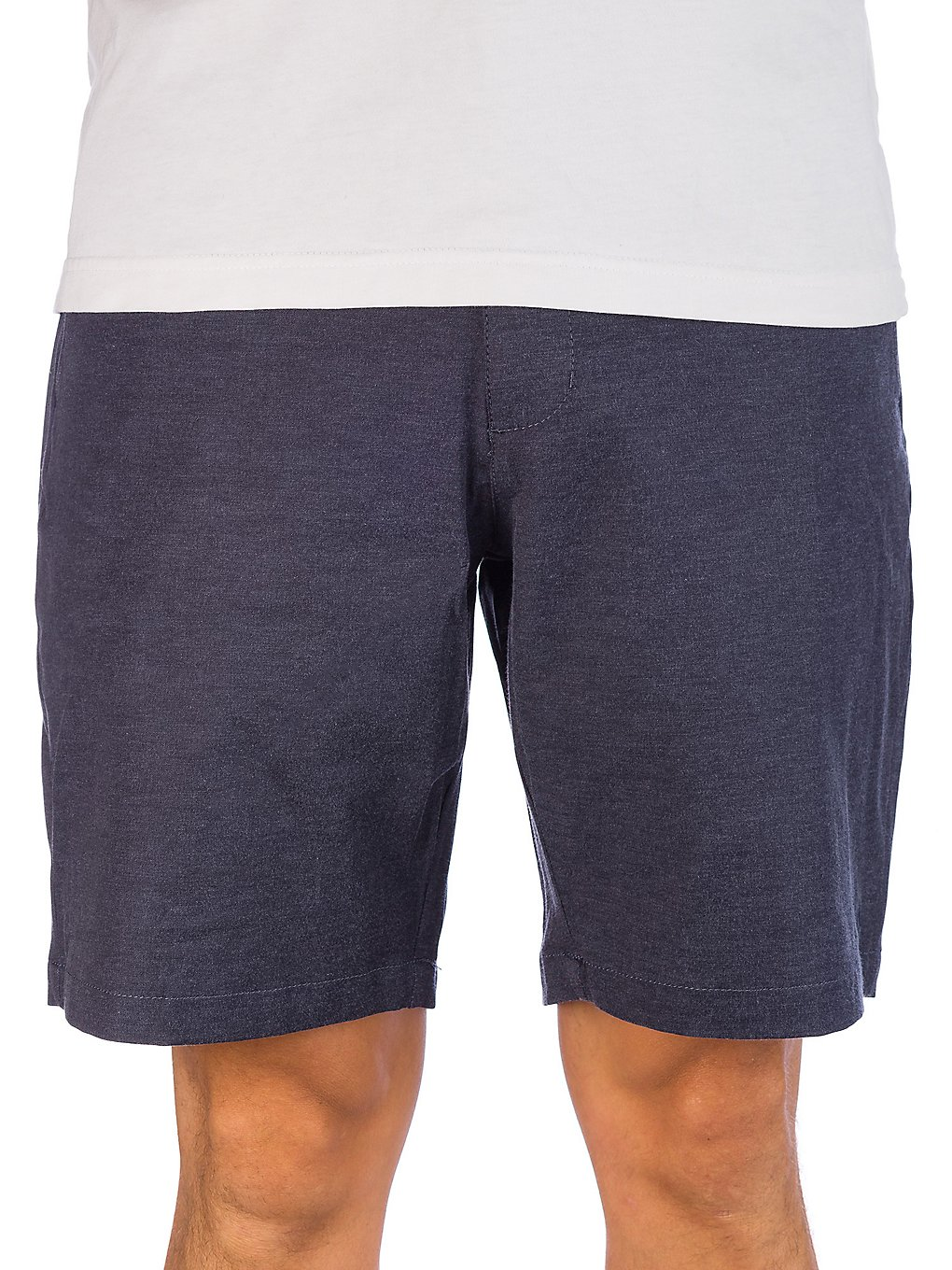 RVCA Back In Hybrid Shorts denim heather