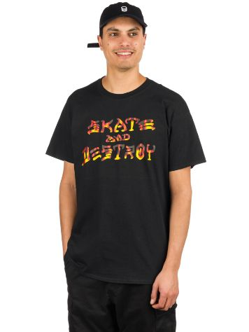 Thrasher Skate And Destroy BBQ T-Shirt