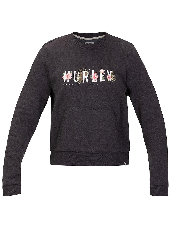 Hurley Flourish Fleece Crew Sweater gris