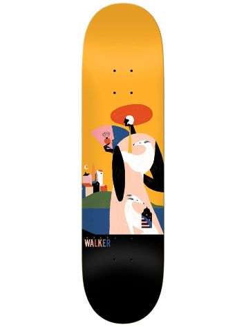 "Real Walker X Willian Santiago 8.5"" Skateboard De"