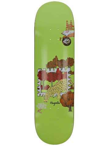 "Magenta Infinite Loop Stamp 8.4"" Skateboard Deck"