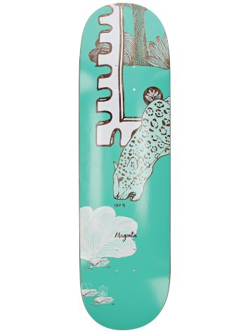 "Magenta Infinite Loop Jaguar 8.5"" Skateboard Deck"