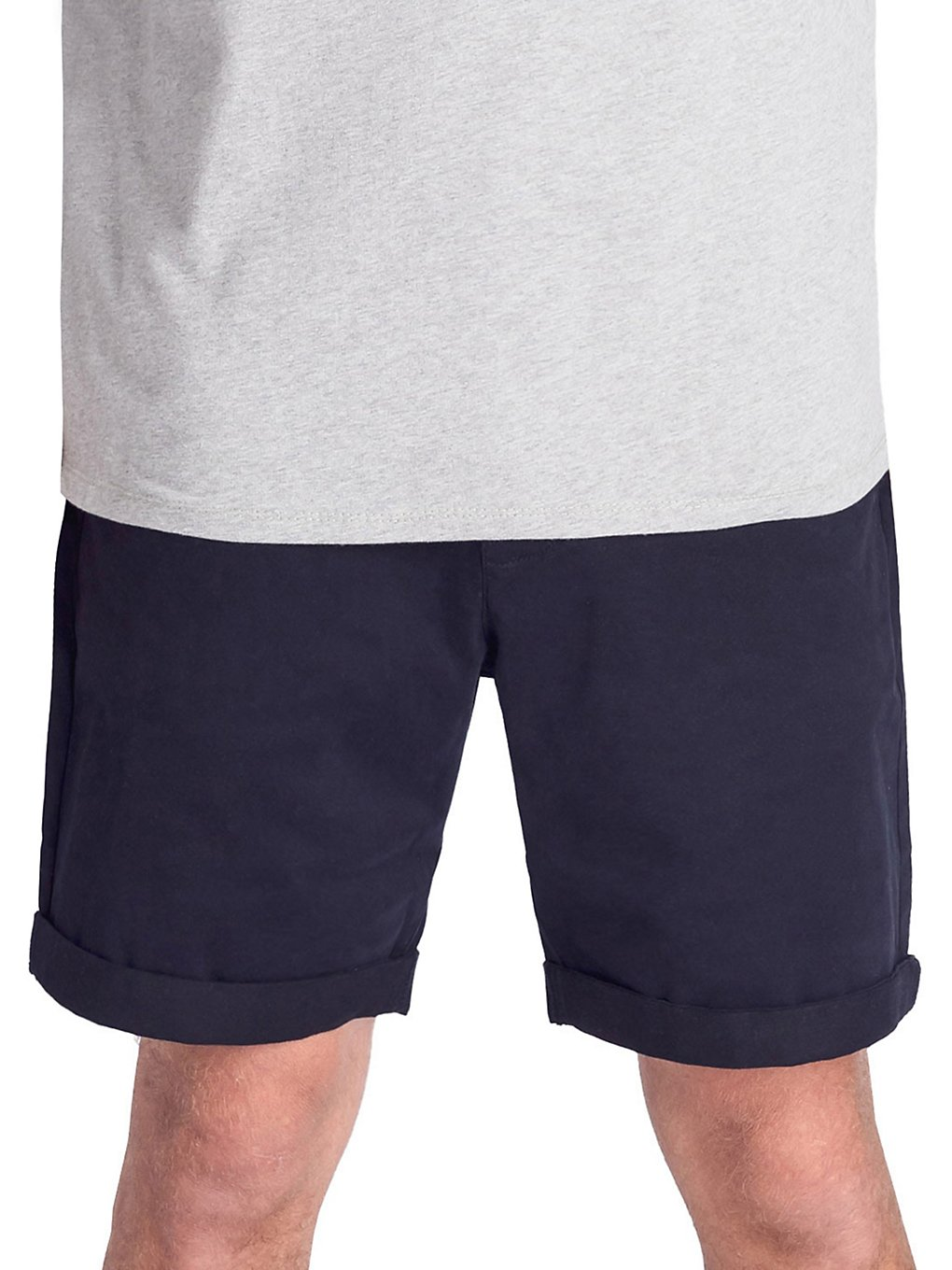 Degree Clothing Wover Shorts dark navy