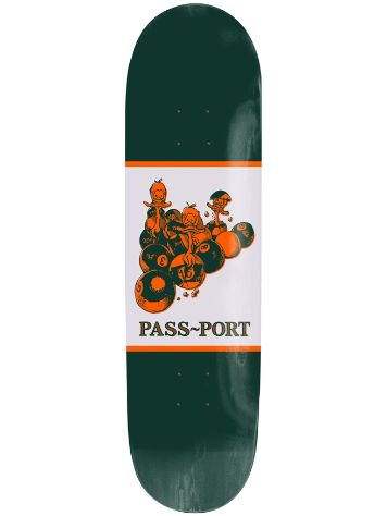 "Pass Port Ducks In A Row 8.25"" Skateboard Deck"
