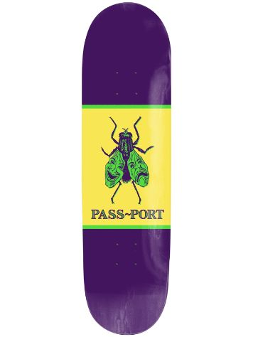 "Pass Port Laugh Now Fly Later 8.38"" Skateboard Deck"