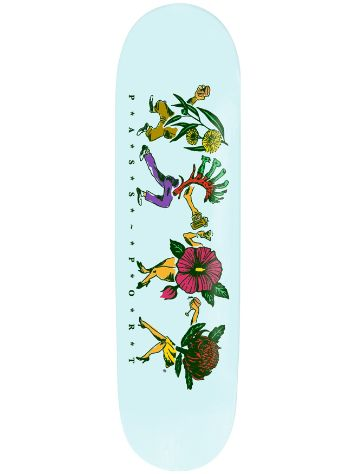 "Pass Port Floral Friends Sky 8.0"" Skateboard Deck"