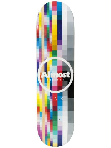 "Almost Rasterized Impact Lt 8.0"" Skateboard Deck"
